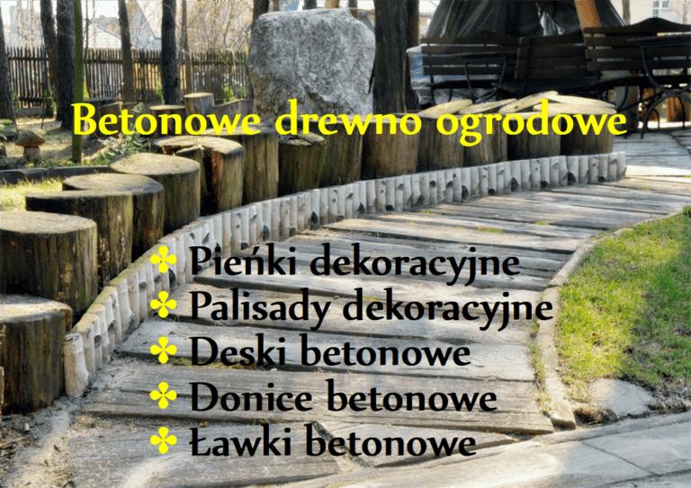 betony drewno